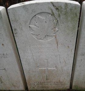 Private H. A. Smart Grave